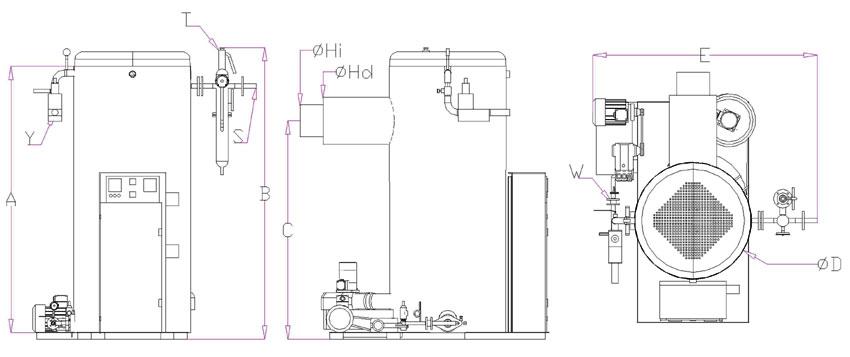Вертикальный парогенератор